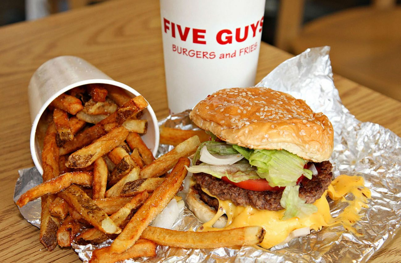five guys zaragoza