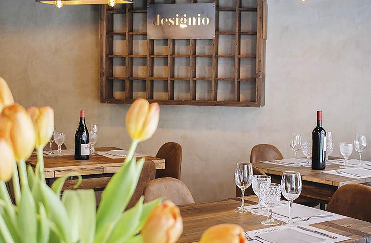 restaurantes en Zaragoza: designio