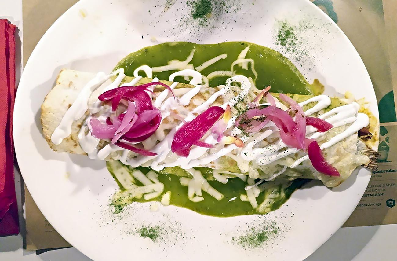la quebradora: restaurante mexicano en zaragoza