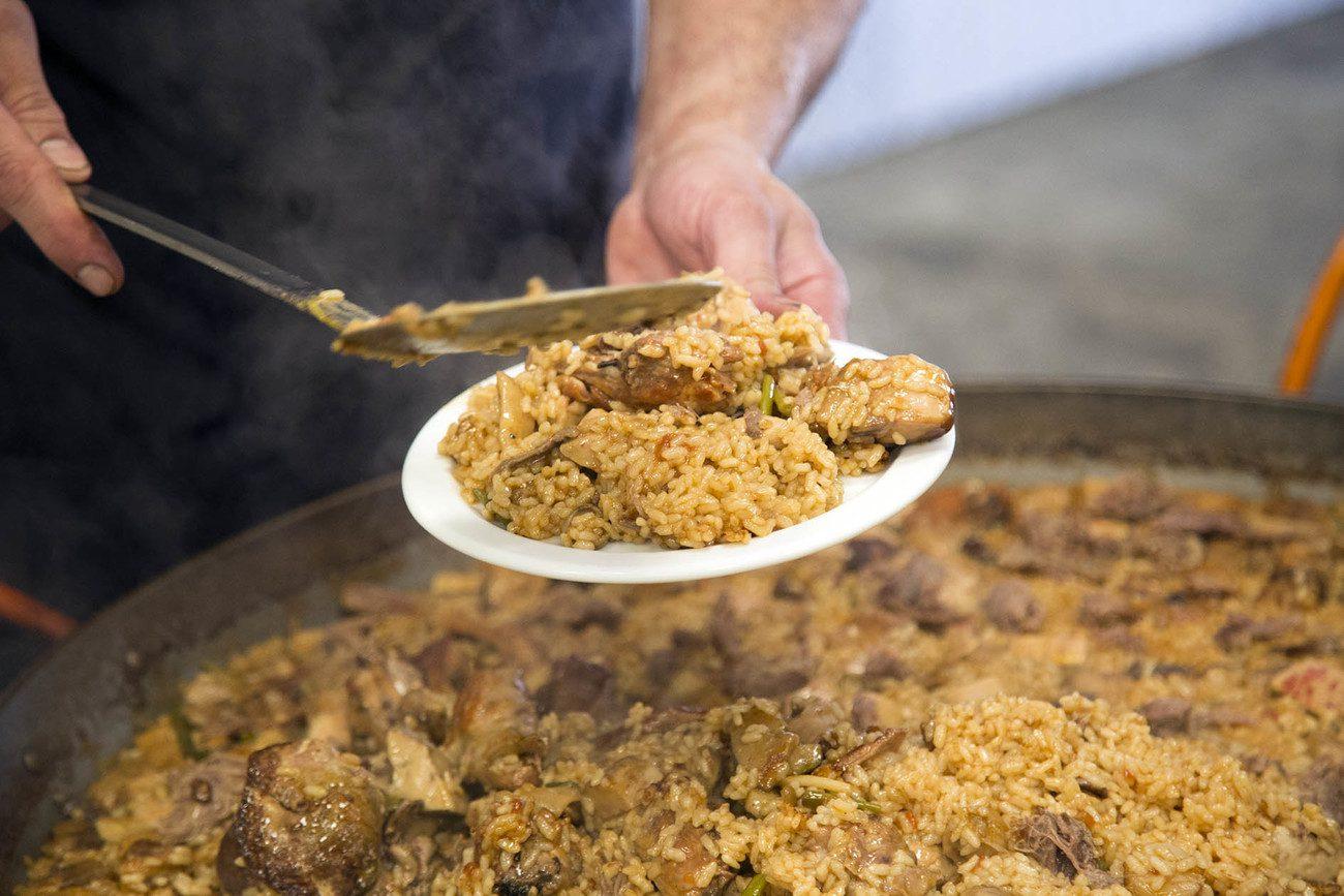 Jornadas de arroz Sivaris en Campomar