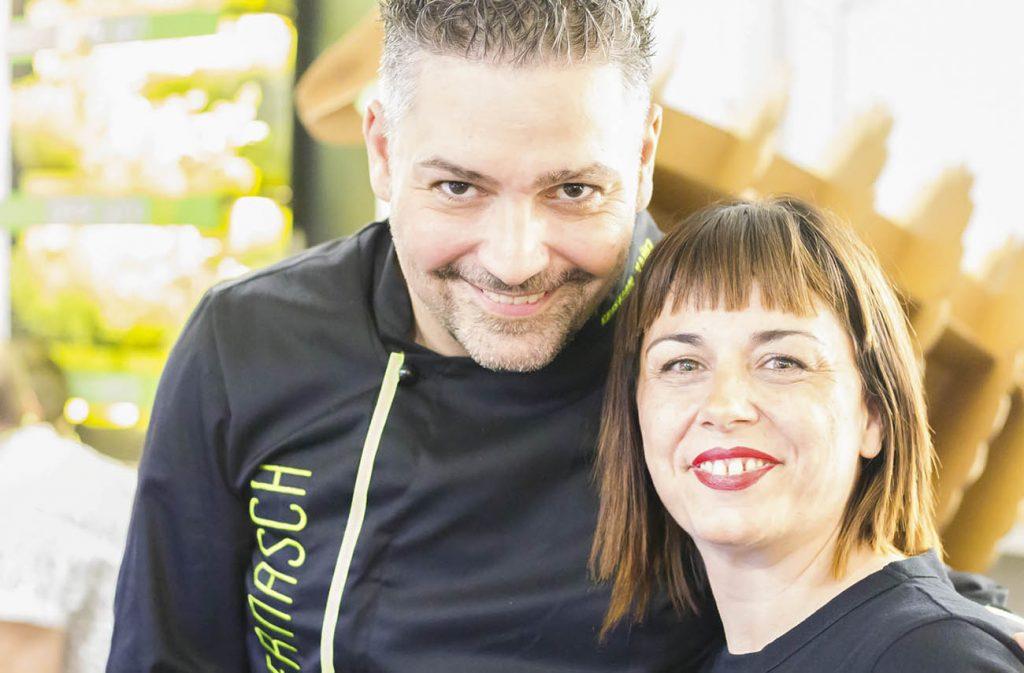 Cristian Yañez y Mariol Velasco, de La Ternasca