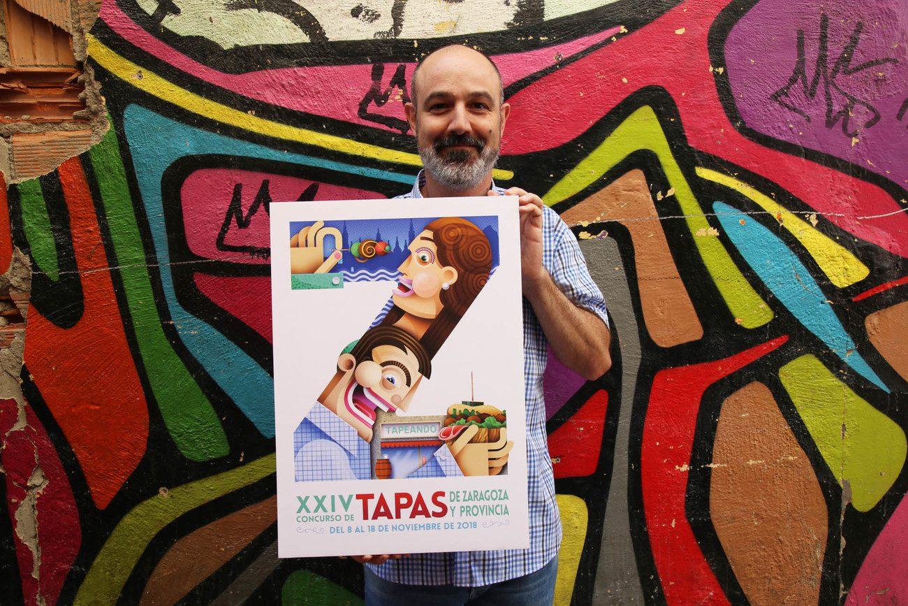 cartel concurso de tapas de Zaragoza