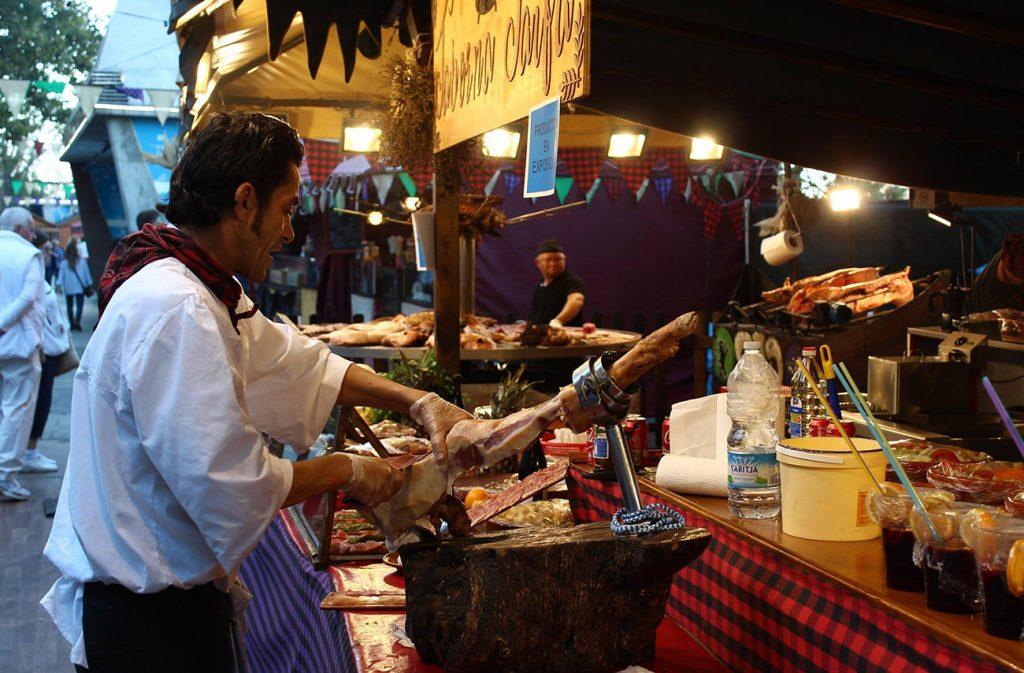 comer Fiestas del Pilar