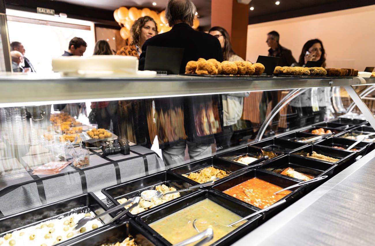 tiendas de comida para llevar