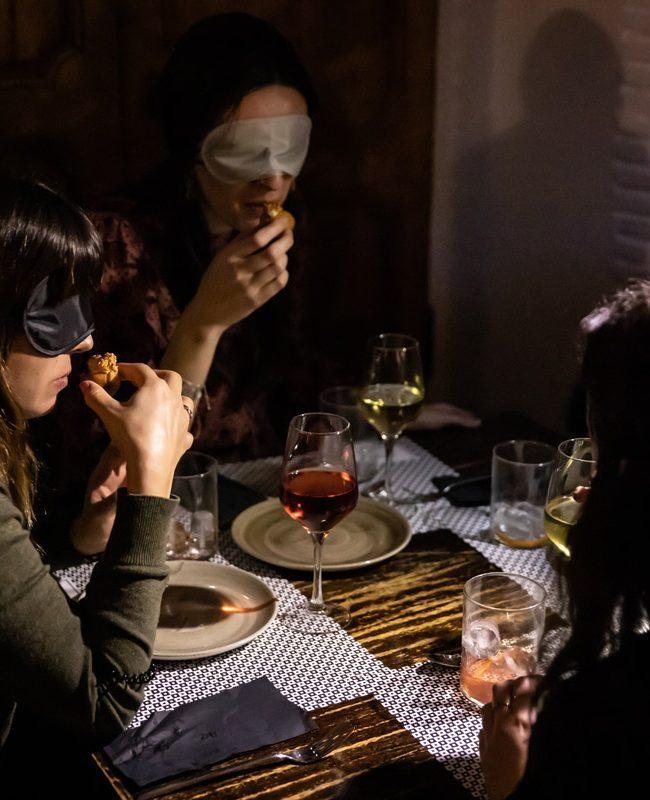 cena cuatro sentidos