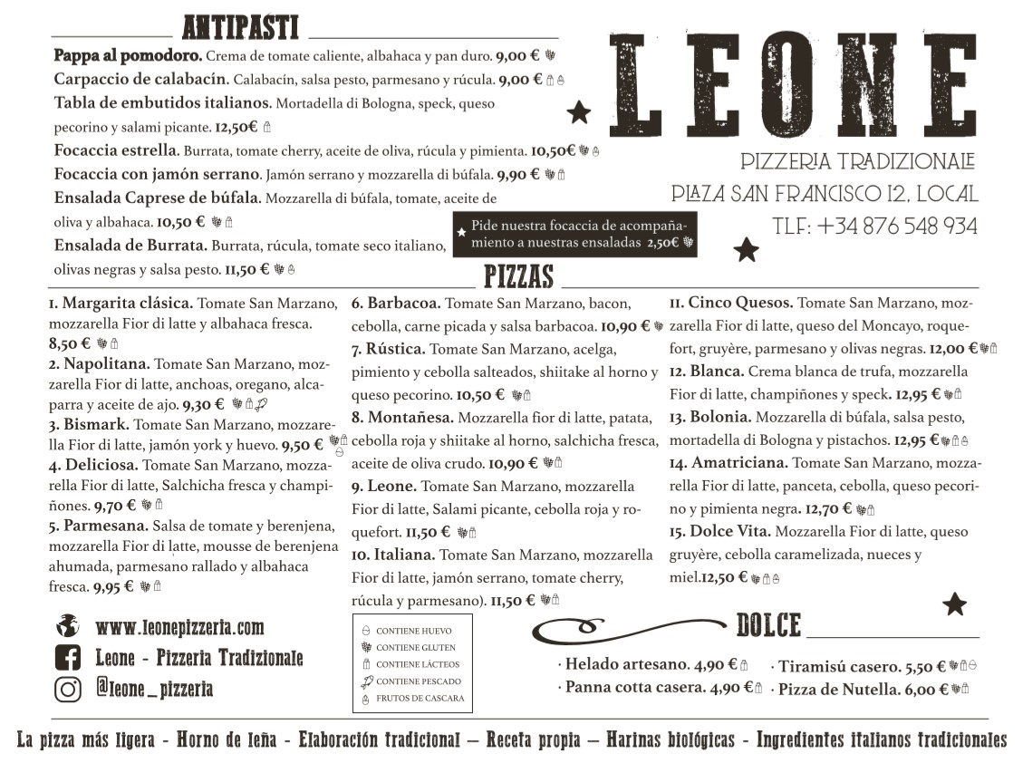 pizzeria leone zaragoza
