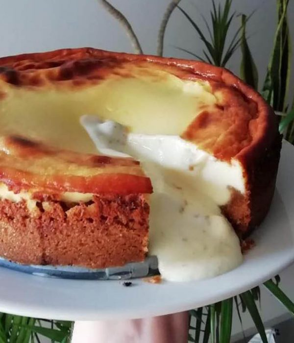 receta tarta queso cremosa