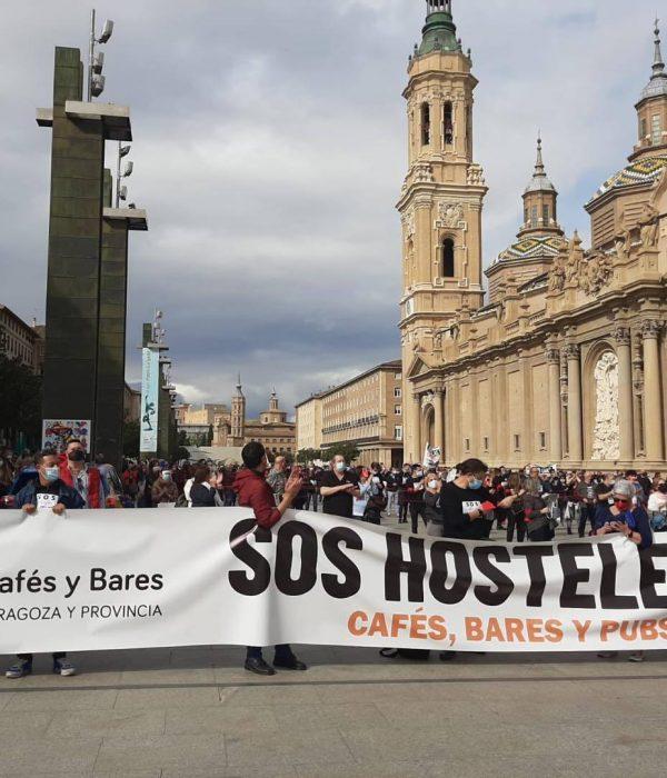 manifestación hostelería