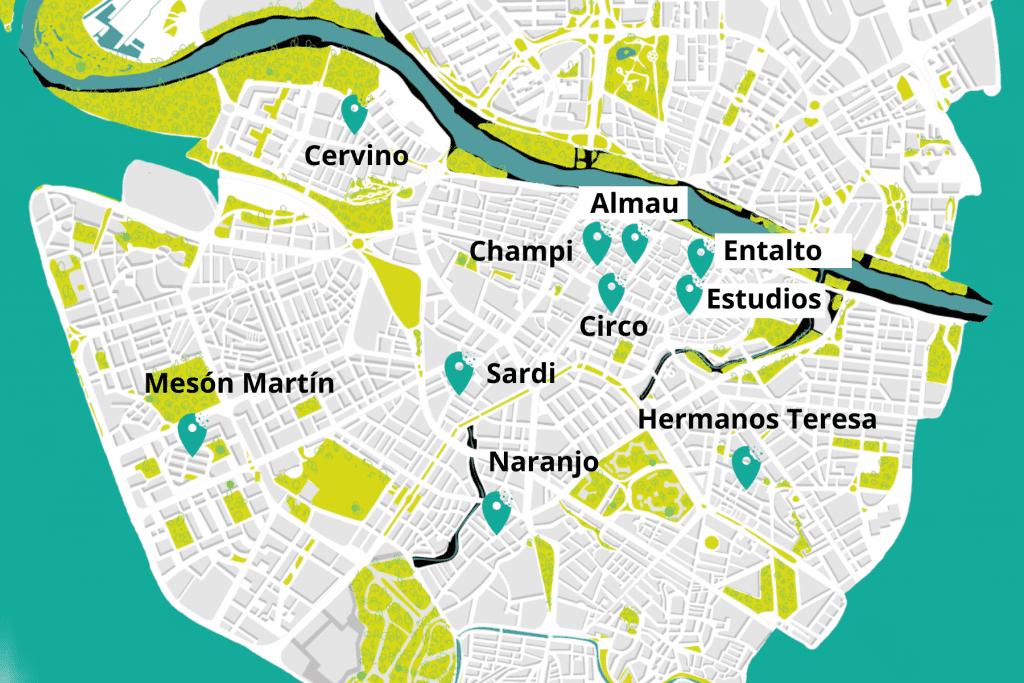 Mapa bares barra
