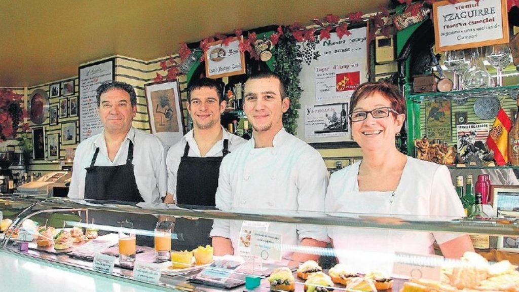 Bar con barra: Bar Hermanos Teresa Zaragoza