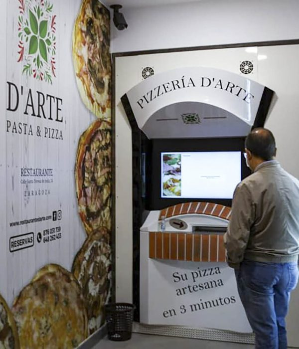 segunda pizzería automática
